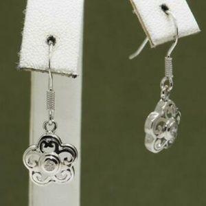 Jewelry - DIAMOND FLOWER DANGLE